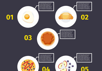 Breakfast Food Multipurpose Infographic 1