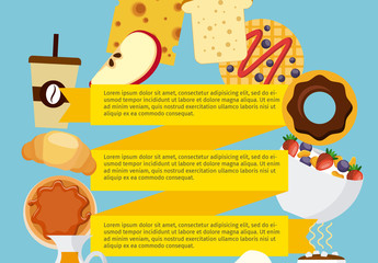 Breakfast Food Multipurpose Infographic 2