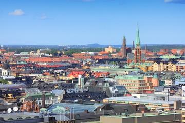 Foto auf Leinwand Skandinavien Norrmalm, Stockholm