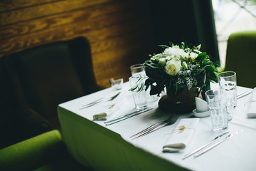 Viintage rustic wedding decoration