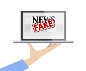 Provide Fake News Concept.