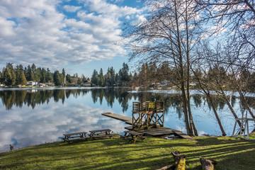 Mirror Lake Reflection 4