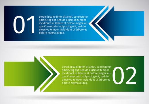 Multidirectional Arrow Infographic 1