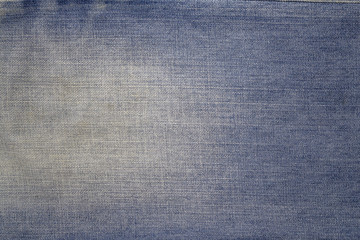 Texture of blue jeans textile background