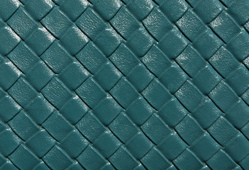 Blue color leather pattern.