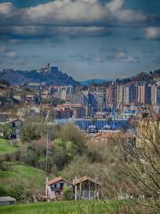 Basque Country Mountains Landscape around San Sebastian