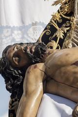 cristo de la misericordia de la hermandad del baratillo, semana santa de Sevilla
