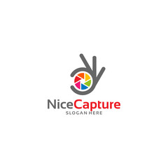 Nice Capture logo template designs