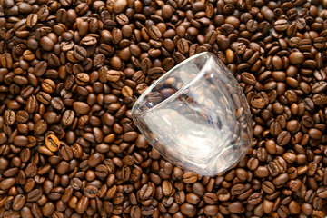 coffee beans as wallpaper