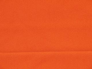 Orange fabric texture for background