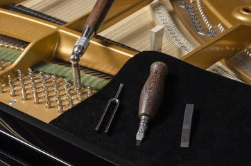 Klavierstimmer Klavierbauer Werkzeugsatz