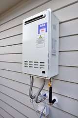 Gas water heater system