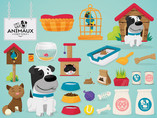 Pet home vector
