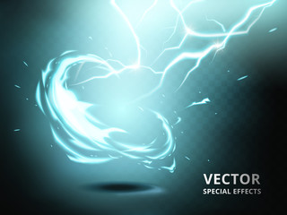electricity current special effect