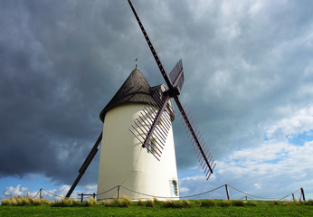 Fotorollo Mühlen moulin à vent