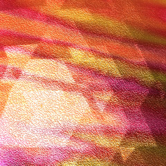 Textured Faceted Vibrant Orange Pink and Yellow Backdrop - High resolution illustration for graphic design or background use.