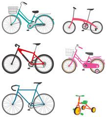 いろいろな自転車 イメージイラスト
