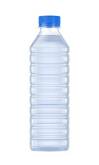 water bottle isolated on white background, 3D rendering