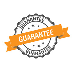 Guarantee stamp illustration