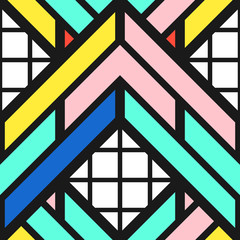 Colorful bright seamless pattern