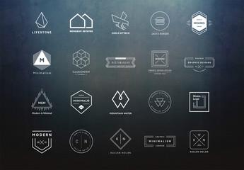 20 Minimalist Logo Layouts 10
