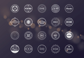 20 Retro Logo Layouts 10