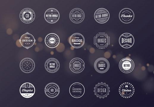20 Retro Logo Layouts 10