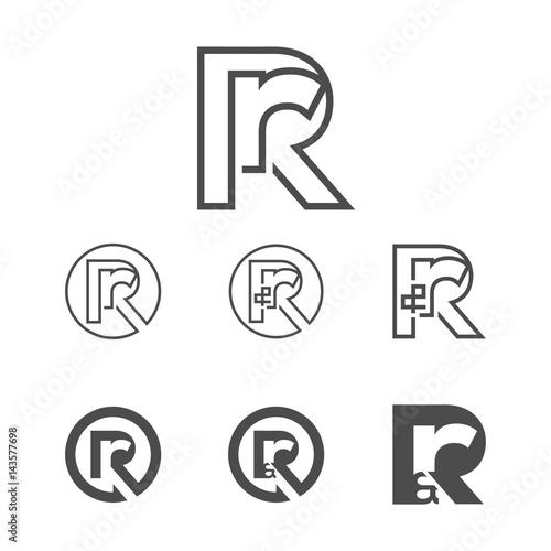Letter r logo rr logo rr logo design vector isolated stock letter r logo rr logo rr logo design vector isolated thecheapjerseys Images