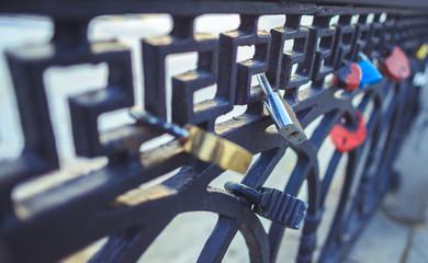 Fencing with wedding locks