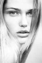 Beautiful woman skin tanned. Healthy beauty skin.