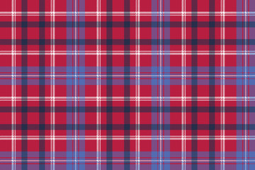 red tartan pixel texture fabric plaid seamless pattern