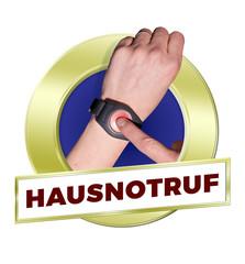 button hausnotruf