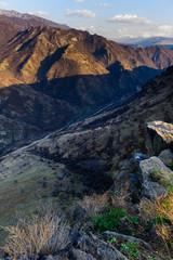 Beautiful mountain landscape with canyon, Armenia