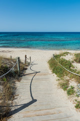 Beach Walkways, Formentera