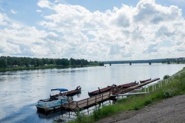 Candle Stick Bridge in Rovaniemi, Finland Suomi