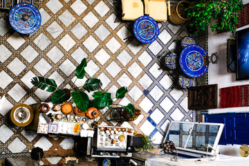 oriental interior in Morocco