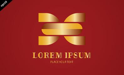 gold shape company logo