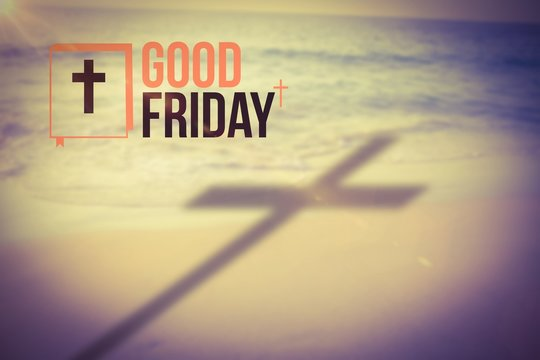 Composite image of good friday logo