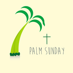 Palm Sunday Banner Religious Holidays