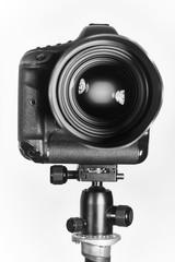 Ariel - 07, March 2017: 1dx Canon eos camera with sigma 85mm lens in studio, illustrative editorial