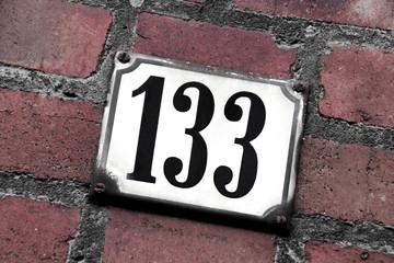 Hausnummer 133