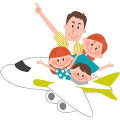 a happy family trip