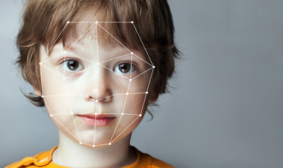 Biometric Verification - Boy Face Detection,