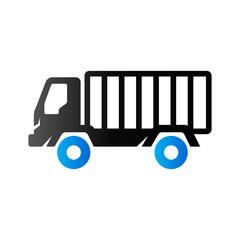 Duo Tone Icon - Truck