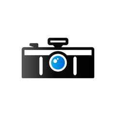 Duo Tone Icon - Panorama camera
