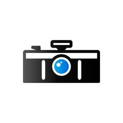 Duo Tone Icon - Panorama camera