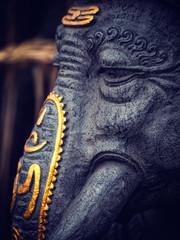 statue of ganesha in bali, indonesia