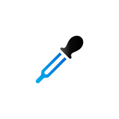 Duo Tone Icon - Eyedropper