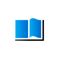 Duo Tone Icon - Books