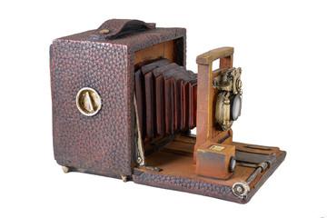 Model  of vintage camera